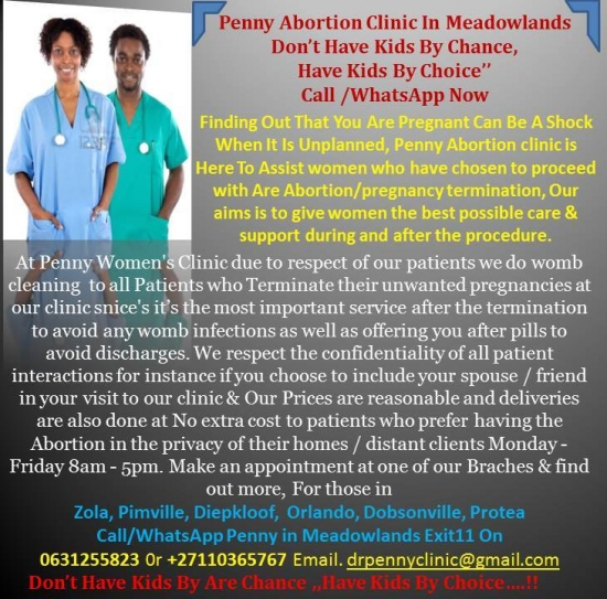 0631255823 ABORTION CLINIC IN MEADOWLANDS/SOWETO C